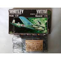 "Сборная модель самолёта ""Whitley"" (Novo\Корпак) F207"