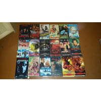 Видеокассеты фильмы и мультфильмы, 40 штук, отдаю всё вместе.