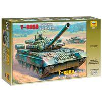 ЗВЕЗДА 3592 - Основной боевой танк Т-80БВ / Сборная модель 1:35