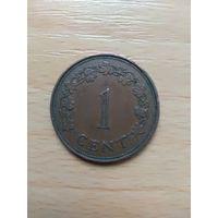 1 Цент 1972 (Мальта)