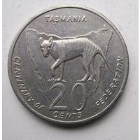 Австралия, 20 центов, 2001
