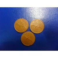 Гернси 1 пенни 1971, 1979 г.г.-цена за монету
