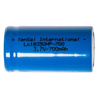 Аккумуляторы Tensai 18350 IMR Li-mn battery 700mAh (14A) 1шт  (LiMn, Оригинальные)