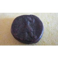 Монета Кушанская империя. Кушаны медь