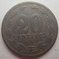 Аргентина 20 сентаво 1920 г.