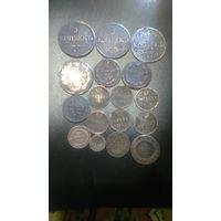 Лот медных монет Империи