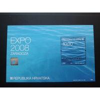 Хорватия 2008 EXPO  блок