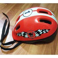 """Шлем защитный детский. Б/у. Нужно """"поколдовать"""" с креплением."""