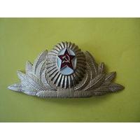 Кокарда о/с парадная СССР (алюминий)