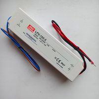 Блок питания 5В, 12А, 60Вт Источник, драйвер Mean Well. 5 Вольт. 12 Ампер, 60 Вт. IP67. Влагозащищенный. LPV-100-5