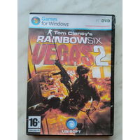 """Tom Clancy's Rainbow Six Vegas 2"" DVD-r"