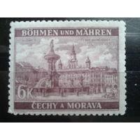 Богемия и Моравия 1940 фонтан