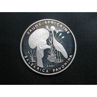 Чад 1000 франков 2001 года.