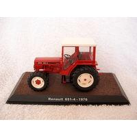 Масштабная 1:32 модель трактора Renault 651-4 - 1976