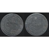Unitas. Solidaridad Hemisferica. Defensa Hemisferica -- Libertas in Unitate. Souht AtlanticForce. United States Atlantic Fleet (dl5) (f04)