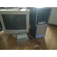 ПК - персональный компьютер, системный блок, монитор