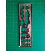 Заглушка в корпус (задняя панель) I/O Shield (2)