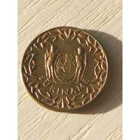 Суринам 1 цент 1972г.