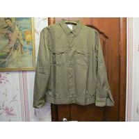 Рубашка форменная, мужская с длинным рукавом. Размер 58/5-6.