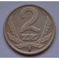 Польша 2 злотых, 1977 г.
