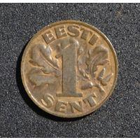 Эстония 1 сент, 1929