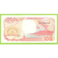 Индонезия. 100 рупий (1992г.) BET 296744. UNC