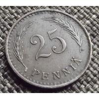 Финляндия. 25 пенни 1942