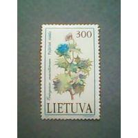 Литва. Флора. 1992г. чистая