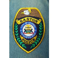 "Шеврон ""Easton police"", Pennsylvania - ЗНИЖКА! - %"