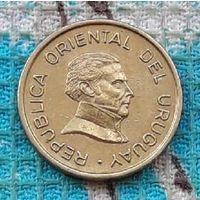 Уругвай 1 песо 1994 года, AU