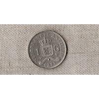 Антильские острова /Антилы/Антильские Нидерланды 1 гульден 1971 /(DY)