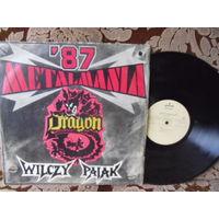 Виниловая пластинка METALMANIA '87. Wilczy pajak. Dragon.