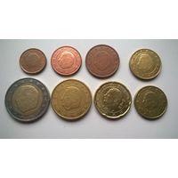 Бельгия набор евро монет