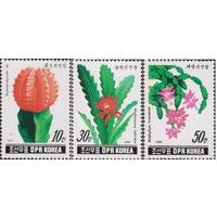 КНДР Северная Корея. 1990. Кактусы флора **