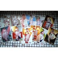 Комплект открыток Японские женские наряды Япония
