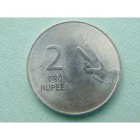 Индия 2 рупии 2007г.