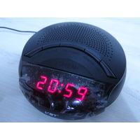 Настольные Радио-Часы VST-903 LED, Будильник