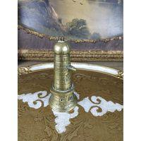 Колокольчик бронзовый Старинный бронза маяк ручной работы