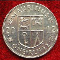 7330:  1 рупия 2012 Маврикий