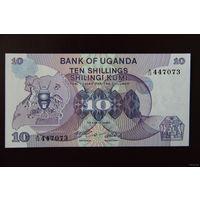 Уганда 10 шиллингов 1982 UNC