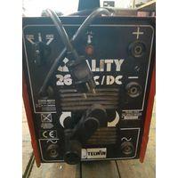 Сварочный аппарат Telwin Quality 260 AC/DC с кабелями.