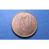 2 пенни 1971. Ирландия. XF!