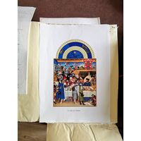 Большой французский календарь Великолепный часослов герцога Беррийского