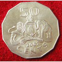 6806:  50 центов 2007 Свазиленд