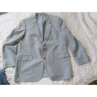 Пиджак в стильную клетку р. 50-52