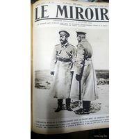 Первая мировая. 1916 год. Журнал Miroir. Годовая подшивка.