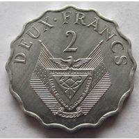 Руанда 2 франка 1970 ФАО
