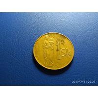 Словакия 1 крона 1993