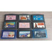 Картриджи игры для Game Boy Advance