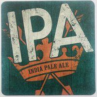 Подставка под пиво IPA пивоварни Greene King /Англия/